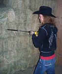 Coring hay