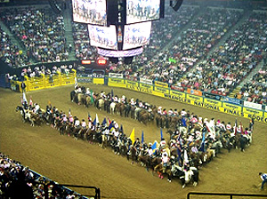 NFR Grand Entry