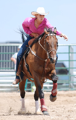 Barrel Racer Athlete